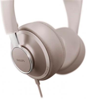 Наушники-гарнитура Philips SHL5605GY/10 - крепление кабеля