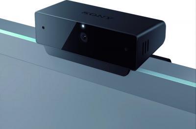 Веб-камера Sony CMU-BR200 - установка на мониторе