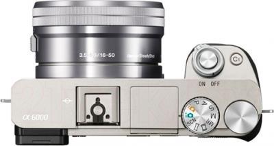 Беззеркальный фотоаппарат Sony ILCE-6000LS - вид сверху