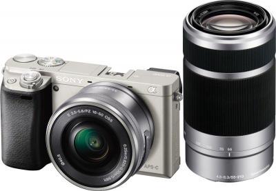 Беззеркальный фотоаппарат Sony ILCE-6000YS - общий вид