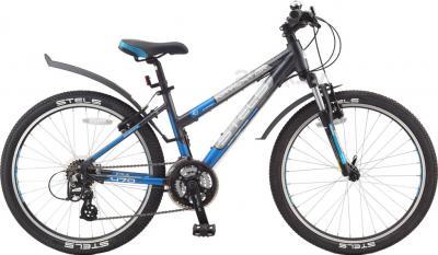 Велосипед Stels Navigator 470 (Dark Gray) - общий вид