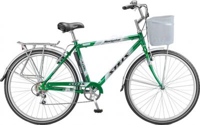 Велосипед Stels Navigator 380 (Gray-Green) - общий вид