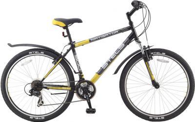 Велосипед Stels Navigator 500 (21.5, Black-Yellow) - общий вид