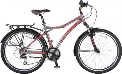 Велосипед Stels Navigator 800 (Gray-Red) - общий вид