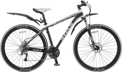Велосипед Stels Navigator 930 Disc (19.5, темно-синий/белый) - общий вид