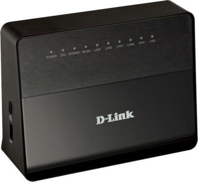 Беспроводной маршрутизатор D-Link DSL-2750U/B1A/T2A - общий вид