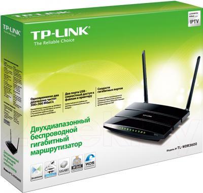 Беспроводной маршрутизатор TP-Link TL-WDR3600 - упаковка