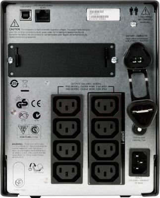 ИБП APC Smart-UPS 1000VA LCD (SMT1000I) - вид сзади