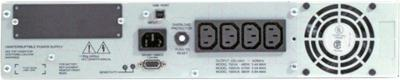 ИБП APC Smart-UPS 1000VA USB & Serial RM 2U (SUA1000RMI2U) - вид сзади