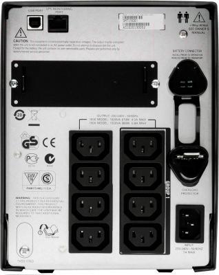 ИБП APC Smart-UPS 1500VA LCD 230V (SMT1500I) - вид сзади