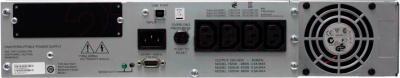 ИБП APC Smart-UPS 1500VA USB & Serial RM 2U (SUA1500RMI2U) - вид сзади