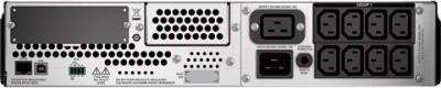 ИБП APC Smart-UPS 3000VA RM 2U LCD (SMT3000RMI2U) - вид сзади