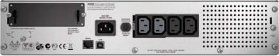 ИБП APC Smart-UPS 750VA LCD RM 2U (SMT750RMI2U) - вид сзади
