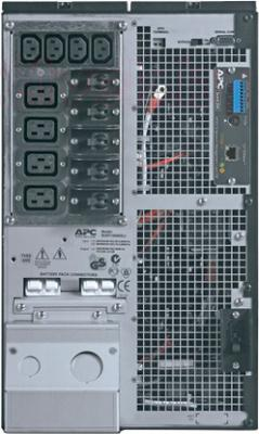 ИБП APC Smart-UPS RT 10000VA 230V (SURT10000XLI) - вид сзади