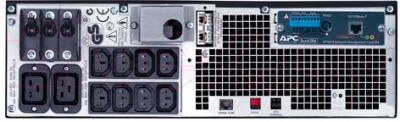 ИБП APC Smart-UPS RT 5000VA RM 230V (SURTD5000RMXLI) - вид сзади