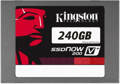 SSD диск Kingston SSDNow V+200 240GB (SVP200S3B7A/240G) - общий вид