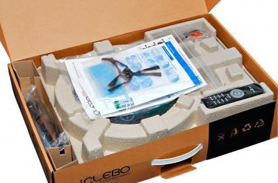 Робот-пылесос iClebo Arte YCR-M05 (карбон) - упаковка