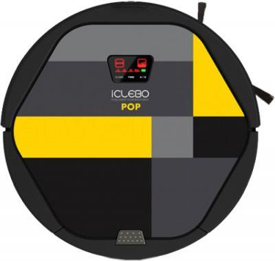 Робот-пылесос iClebo Pop Lemon (YCR-M05-P2) - вид сверху