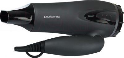 Компактный фен Polaris PHD 2082TDi (Gray) - в сложенном виде