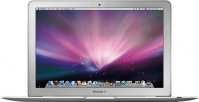 """Ноутбук Apple MacBook Air 11"""" (MD711RS/B) - фронтальный вид"""