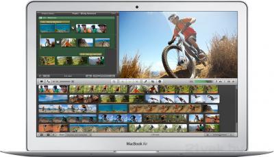 """Ноутбук Apple MacBook Air 13"""" (MD760RS/B) - фронтальный вид"""