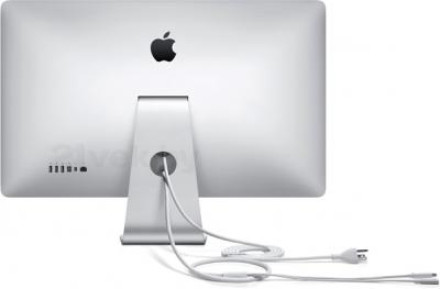 Монитор Apple Thunderbolt Display (MC914ZE/B) - вид  сзади