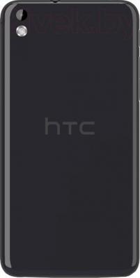 Смартфон HTC Desire 816 Dual (серый) - вид сзади