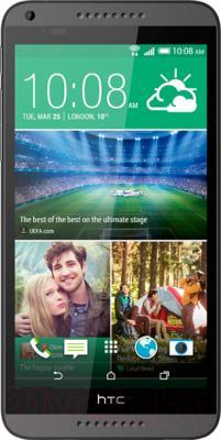 Смартфон HTC Desire 816 Dual (серый) - общий вид