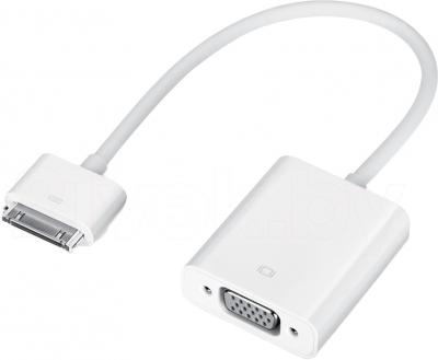 Переходник Apple Dock Connector to VGA Adapter (MC552ZM/B) - общий вид