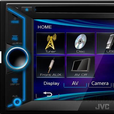 Автомагнитола JVC KW-V10EED - элементы управления