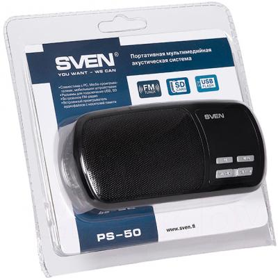Магнитола Sven PS-50 - в упаковке