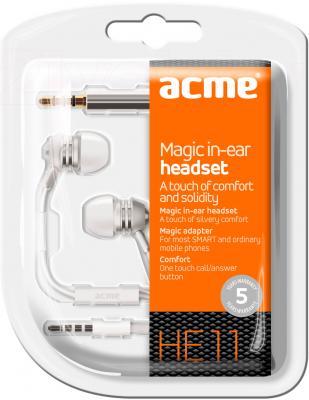 Наушники-гарнитура Acme HE11 - вид в упаковке