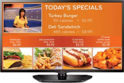 Телевизор LG 60LN549E - общий вид