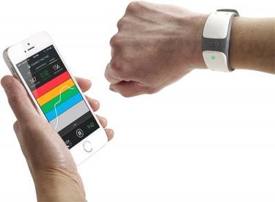 Датчик пульса Mio Link (White) - синхронизация со смартфоном