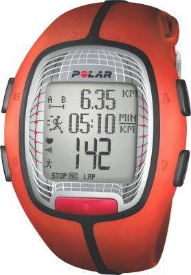 Пульсометр Polar RS300X (Orange) - общий вид