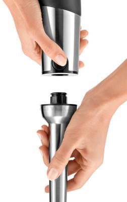 Блендер погружной Bosch MSM88190 - механизм смена насадки