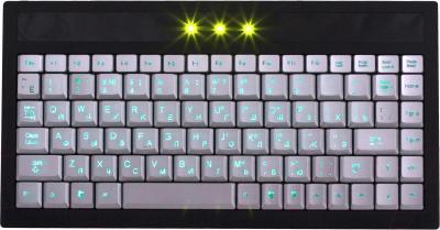 Клавиатура Gembird KB-9627LU-R (Silver-Black) - общий вид