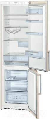 Холодильник с морозильником Bosch KGE39AK21R - в открытом виде