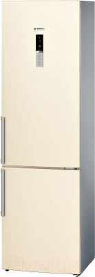 Холодильник с морозильником Bosch KGE39AK21R - общий вид