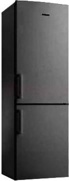 Холодильник с морозильником Hansa FK207.4 S - общий вид