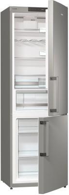 Холодильник с морозильником Gorenje RK6191KX - общий вид