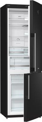 Холодильник с морозильником Gorenje NRK61JSY2B - общий вид
