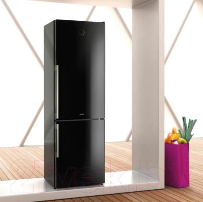 Холодильник с морозильником Gorenje NRK61JSY2B