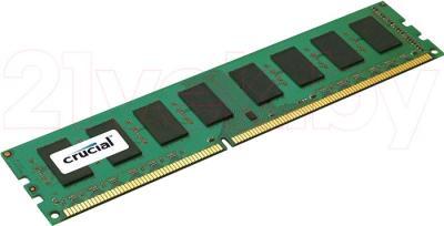 Оперативная память DDR3 Crucial 2GB DDR3 PC3-12800 (CT25664BA160B) - общий вид