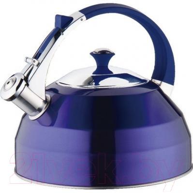 Чайник со свистком Peterhof PH-15528 (синий)