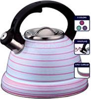 Чайник со свистком Peterhof PH-15604 (розовый) -