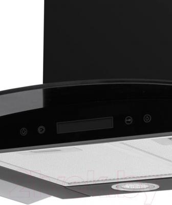 Вытяжка купольная Germes Alt Sensor 60 (черный) - панель управления