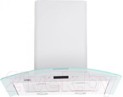 Вытяжка купольная Germes Alt Sensor 60 (белый) - вид спереди