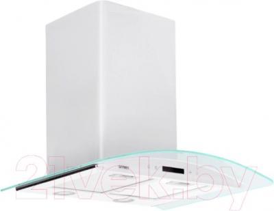Вытяжка купольная Germes Alt Sensor 60 (белый) - общий вид