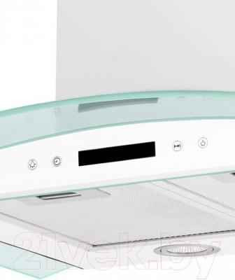 Вытяжка купольная Germes Alt Sensor 60 (белый) - панель управления